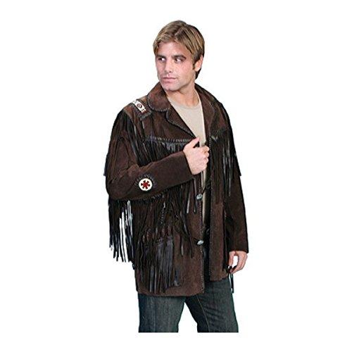 [スカーリー] メンズ ジャケット&ブルゾン Handlaced Bead Trim Coat 758 Long [並行輸入品] B07DHMNR1D 44