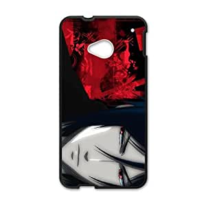 HTC One M7 Cell Phone Case Black Black Butler vdfy