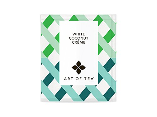White Coconut Creme Tea Bags 50 Ct. Bulk Pyramid Tea (White Creme)