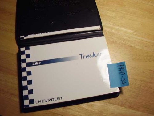 2004 Chevy Chevrolet Tracker Owners Manual