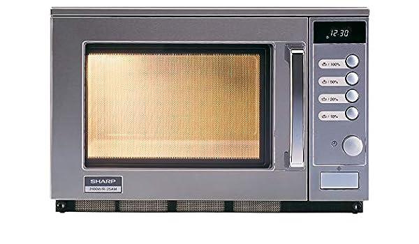 Sharp Mikowelle - Microondas (20 L, 2100 W, 4 niveles de potencia ...