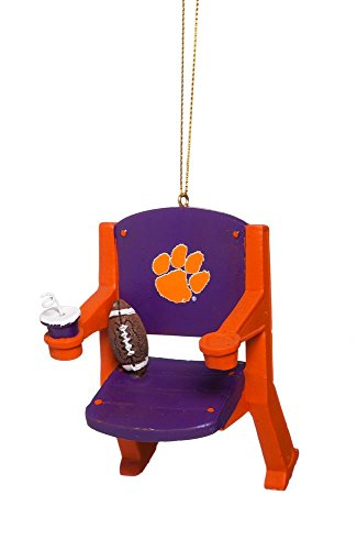 Clemson Tigers Official NCAA 4 inch x 3 inch Stadium Seat Or
