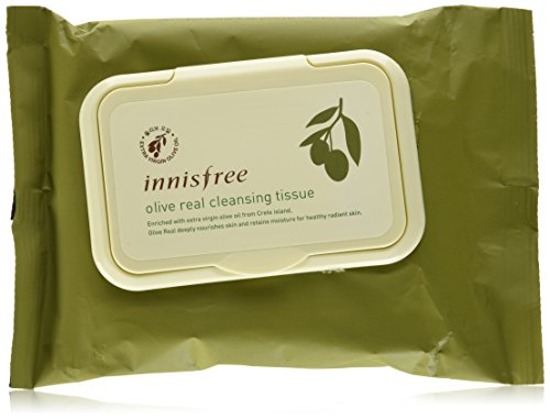 (Innisfree Olive Real Cleansing Tissue 30sheets )