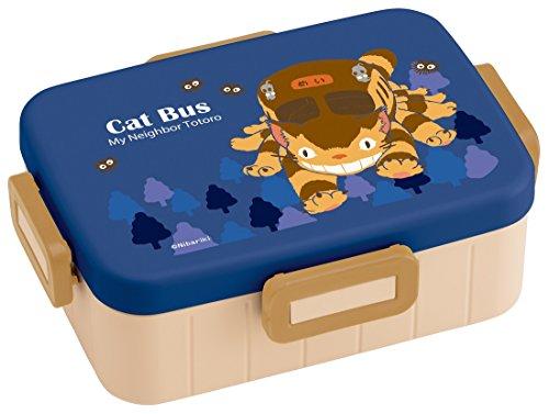 Studio Ghibli My Neighbor Totoro Locking Lid Bento Lunch Box  Cat Bus Series   22 Fl Oz