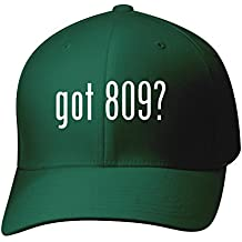 BH Cool Designs Got 809? - Baseball Hat Cap Adult