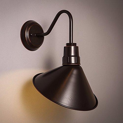 JJZHG Wandleuchte Wandlampe Wasserdicht Wandbeleuchtung Retro Cafélampenschlafzimmerbettgehwegbalkon-Wandlampe beinhaltet  Wandlampe,stoere wandlampen,wandlampen Design