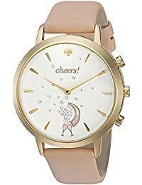 Women's KST23102 Grand Metro Vachetta and Gold Hybrid Smartwatch