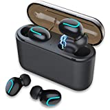 Wireless Earbuds Bluetooth Headphones - Touch Control V5.0 Earpieces Wireless Mini TWS HD HiFi Stereo Sweatproof Sport Earphone Built in Mic Noise Cancelling Headset with 2600 mAH Charging Case
