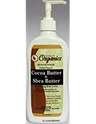 Ultimate Organics Cocoa Butter & Shea Butter Moisturizing Body Lotion 355Ml