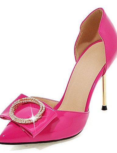 BGYHU GGX Damen Schuhe Stiletto Ferse Heels NEUHEIT spitz offene Toe Heels Hochzeit Party & Abend DressRosa