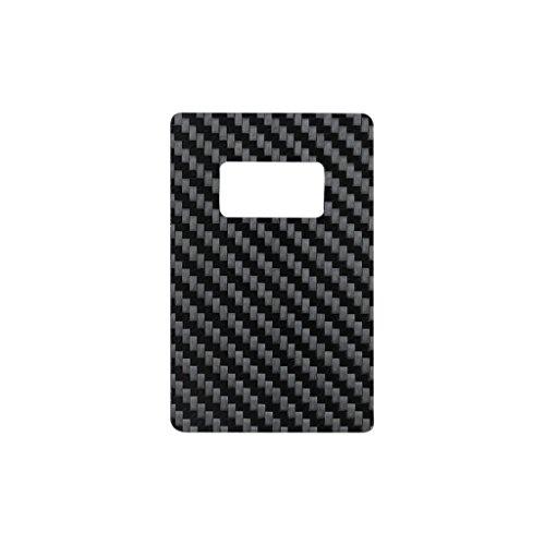 Real Carbon Fiber Credit Card Size Bottle Opener