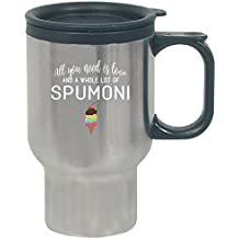 Funny Spumoni Ice Cream Lovers Foodie Gift - Travel Mug
