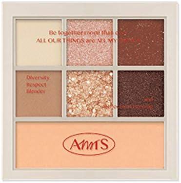 [all my things] Allmightings Im U Palette (7G) Eyeshadow Eyeshadow Palette, Women's Cosmetics, Eye Makeup, Korean Cosmetics (02 AUTHENTIC AMBER)