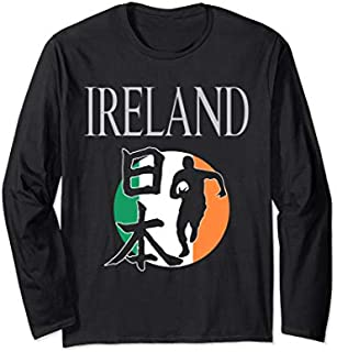 Best Gift Ireland Rugby Flag  Distressed Rugby Football Long Sleeve  Need Funny TShirt / S - 5Xl