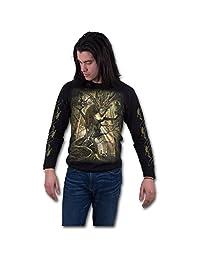 Spiral - DRAGON FOREST - Longsleeve T-Shirt Black