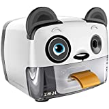 Electric Pencil Sharpener,Heavy Duty Helical Blade Sharpeners Plug in for Kids Artists Classroom Office School,Auto-Stop Feature for No.2 and Colored Pencils,Cute Panda