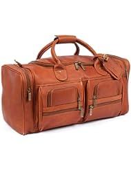 ClaireChase Executive Sport Premium Leather Duffel Bag