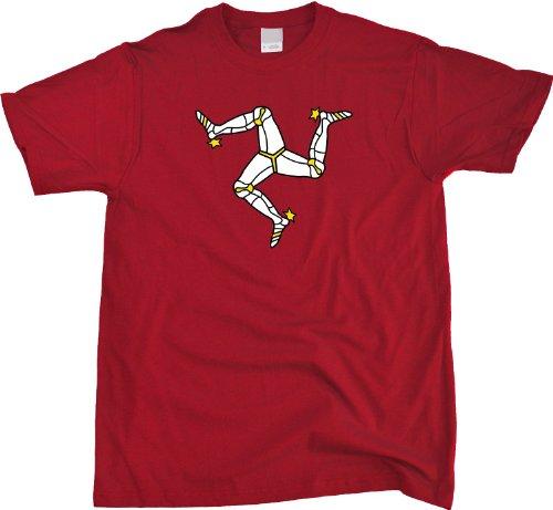 Isle of Man Flag | Manx Pride Unisex T-shirt Isle of Man Manx Shirt