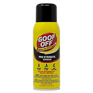Goof Off FG658 Professional Strength Remover, Aerosol 12-Ounce