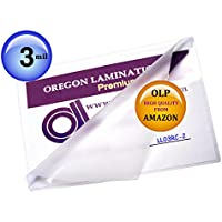 Qty 200 Legal Laminating Pouches 3 Mil 9 x 14-1/2 Hot Laminator Sleeves