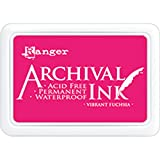 Ranger AIP52524 Archival Ink Pad #0-Vivid Fuchsia