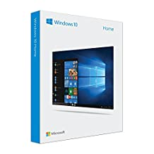 Microsoft Windows 10 Home - Sistemas operativos (Full Packaged Product (FPP), 1 Licencia(s), 20 GB, 1024 GB, 1 GHz, Inglés)