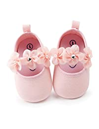 Matoen Baby Girl Pearl Fashion Cotton Solid Color Toddler First Walkers Kid Shoes