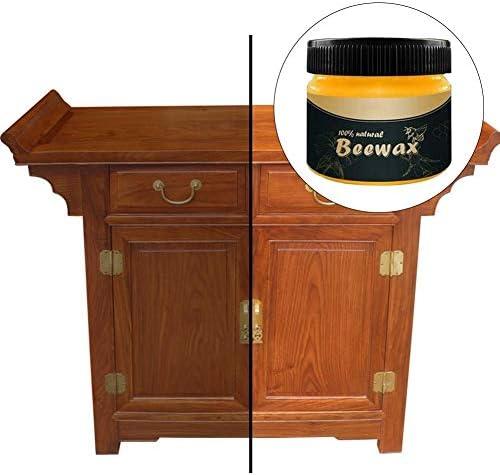 haodene Bienenwachs Mit Holzgeschmack Möbelpflegewachs Bienenwachs Holzgewürz Entfernt Jahrelange Wachs- Und Schmutzablagerungen Und Stellt Das Aussehen Alter Möbel Wieder Her.