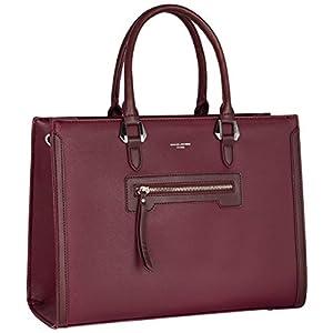 David Jones - Borsa a Mano Donna Lavoro Grande Capacità - Tote Shopper Bag Capiente PU Pelle - Borsa a Spalla Tracolla… 8