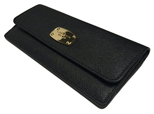 Michael Kors Jet Set Travel Flat Wallet Black - Wallet For Women Michael Kors