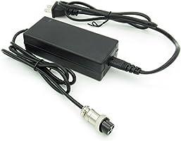 Amazon.com: Cargador de batería para scooter eléctrico de 24 ...