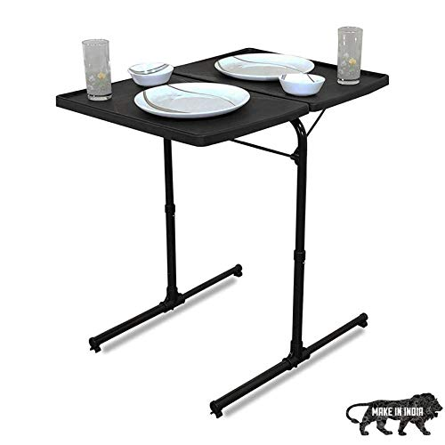 LD Furnitu Folding Tray Table Folding Camping Table Iron Fra