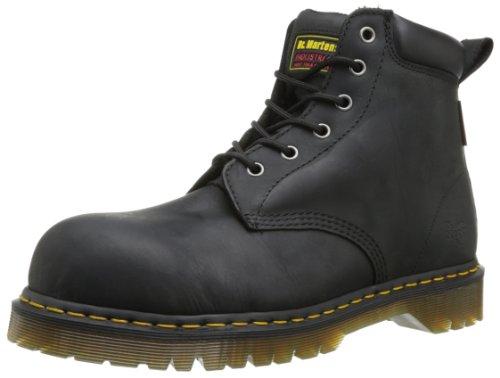 Dr. Martens - Calzado de protección de cuero para hombre, Black, 47: Amazon.es: Zapatos y complementos