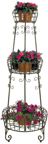 Deer Park PL210 Three Tier French Planter by Deer Park Ironworks