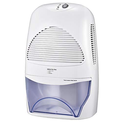 TOPELEK 2L Compact Dehumidifier for Home, Portable Whisper-Quiet Air...