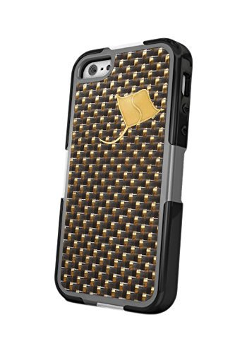 separation shoes 1d0e2 c0802 Stingray Shield SRSSE - iPhone SE Case-System with EMF Radiation Reduction  Technology (Gold)