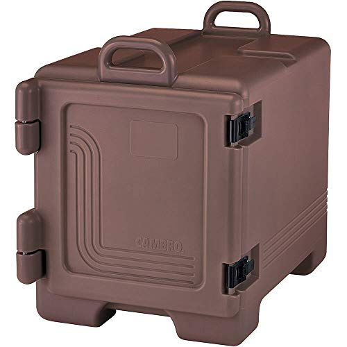 Cambro UPC300131 Ultra Pan Carrier Dark Brown Front Loading Insulated Food Pan Carrier with Handles ()