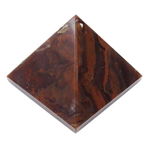 Harmonize Decorative Reiki Healing Crystal Brown Tiger Eye Pyramid Feng Shui Energy by HARMONIZE
