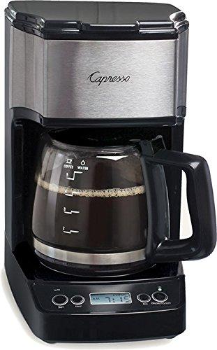 Coffeemaker Blk/Slv 5cup