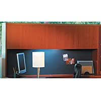 MAYLINE COMPANY Aberdeen Series Laminate Wood Door Hutch, 72w x 15d x 39?h, Cherry, Sold as 1 Each
