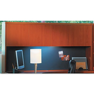 (Mayline Aberdeen Series Wood Door Hutch, 72w x 15d x 39h, Cherry, EA - MLNAHW72LCR)