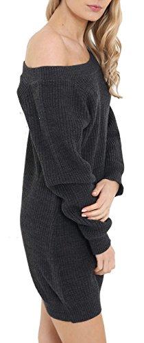 Candy Floss Fashion - Jerséi - para mujer gris oscuro