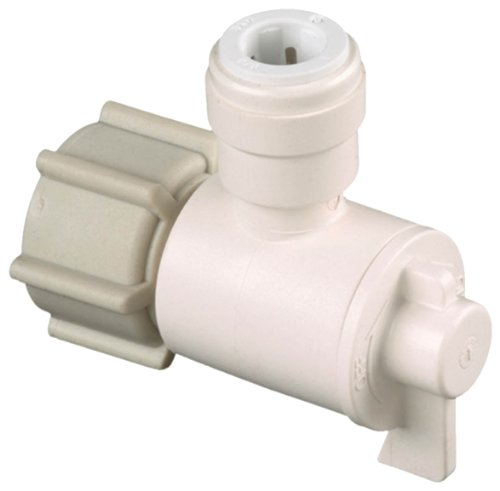 Watts P-677 Quick Connect Female Angle Valve, 1/2-Inch FIP x 3/8-Inch CTS