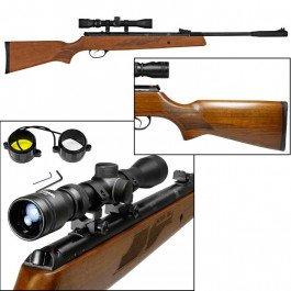 HATSON Model 95 Vortex Quiet Energy Break Barrel Air Rifle with .25 Caliber 17.70