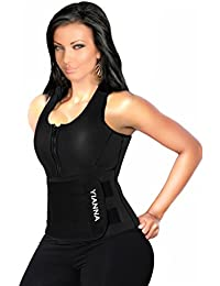 YIANNA Neoprene Sauna Suit Tank Top Vest with Adjustable...