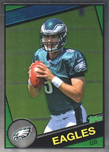 2012 Topps Chrome 1984 Design #4 Nick Foles - Philadelphia Eagles (Rookie Card Insert)