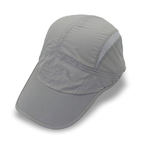 Puli Unisex Outdoor Waterproof Quickdrying Long Bill Golf Cap Sun Hat For (Long Bill Cap)