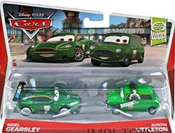 Disney/Pixar Cars Nigel Gearsley and Austin Littleton Diecast Vehicle, - Austin In Outlet Malls
