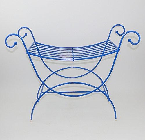 Vanity Chair Metal Stool Bench Girls Bathroom Bride