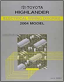 2004 Toyota Highlander Wiring Diagram Manual Original: Toyota: Amazon.com:  BooksAmazon.com